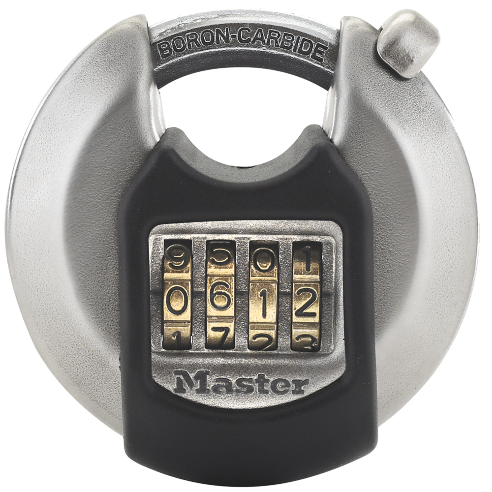 MASTER LOCK Excell Discus Combination Padlock