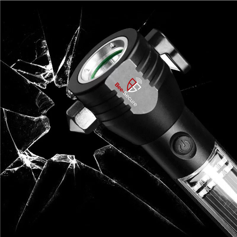 Picture of BEE-SECURE Solar Emergency LED Flashlight