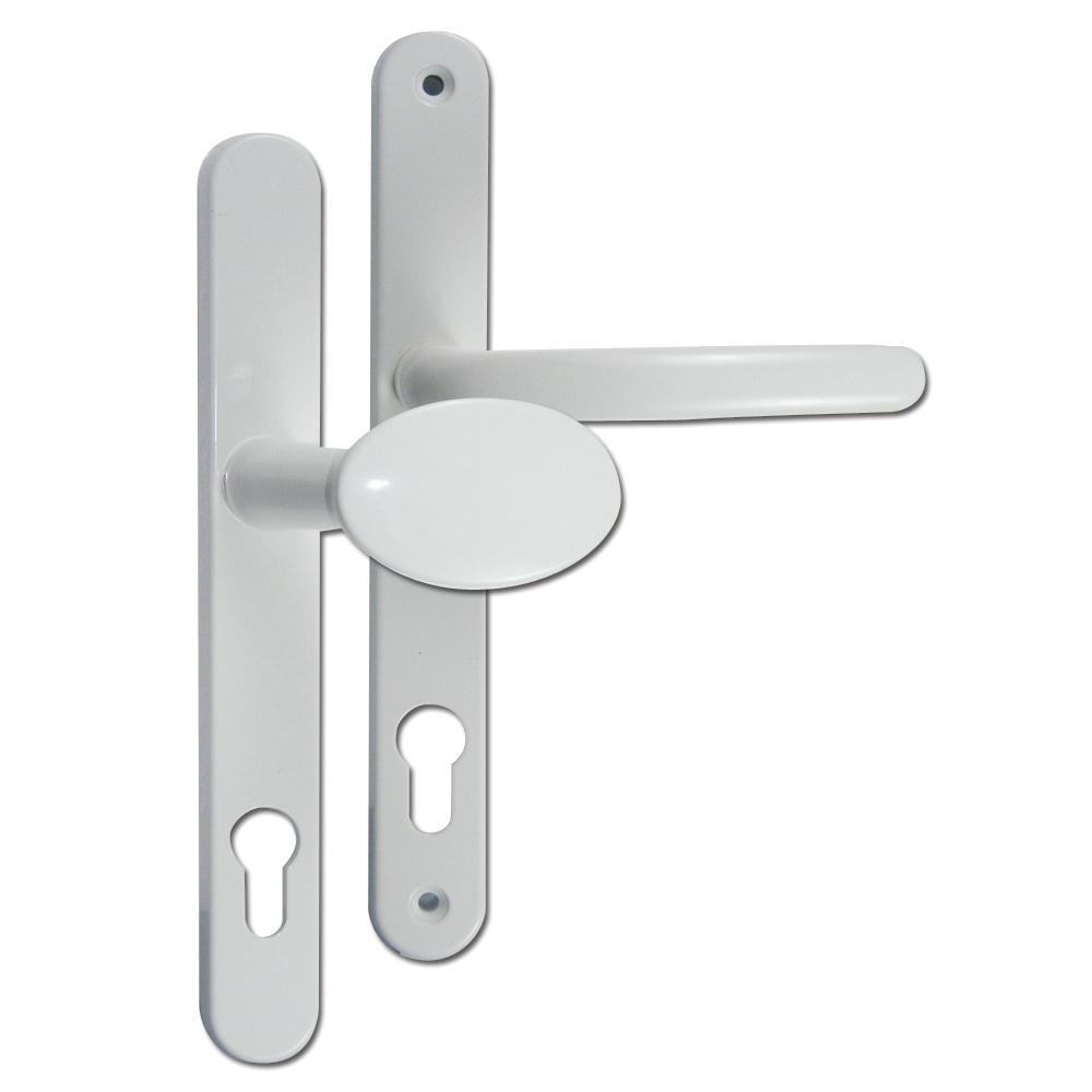 Fab /& Fix Ashford 92//62PZ UPVC Lever Door Handle Furniture 92//62mm Centres White