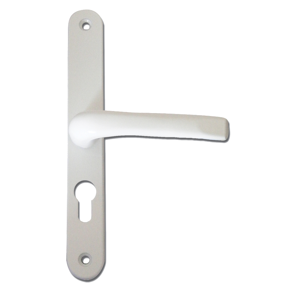 ASEC 70 Lever/Lever UPVC Furniture - 270mm Backplate