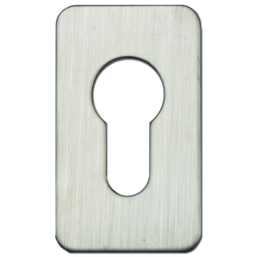 ASEC Self Adhesive 35mm x 60mm Small Euro Escutcheon