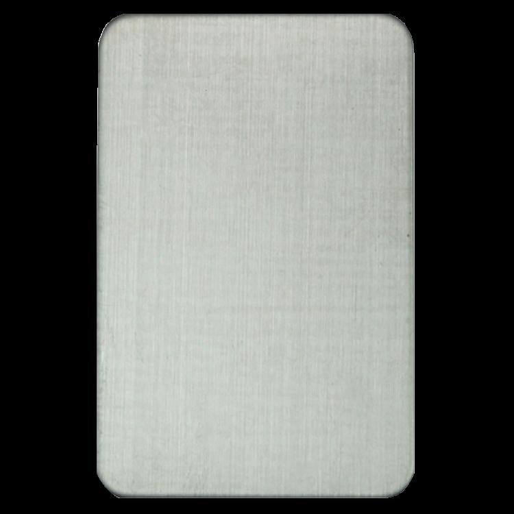 ASEC Self Adhesive 45mm x 70mm Blank Escutcheon