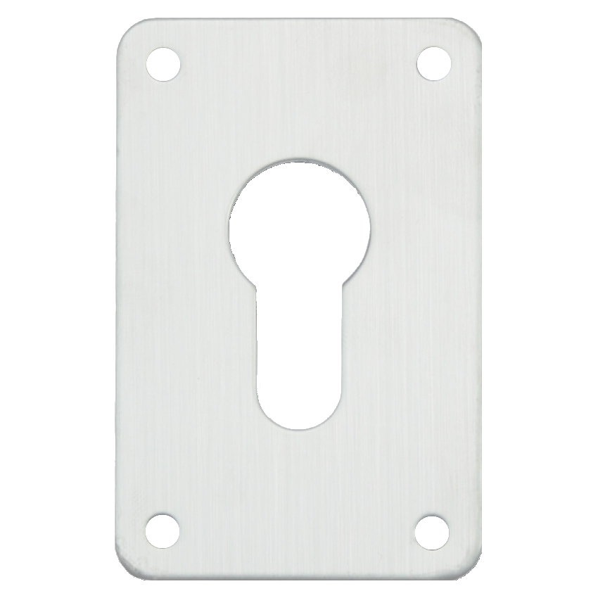 ASEC Screw On 45mm x 70mm Euro Escutcheon