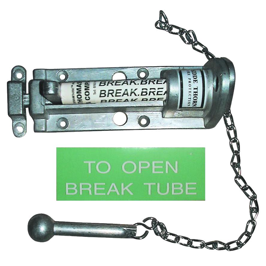 Break Glass Bolt