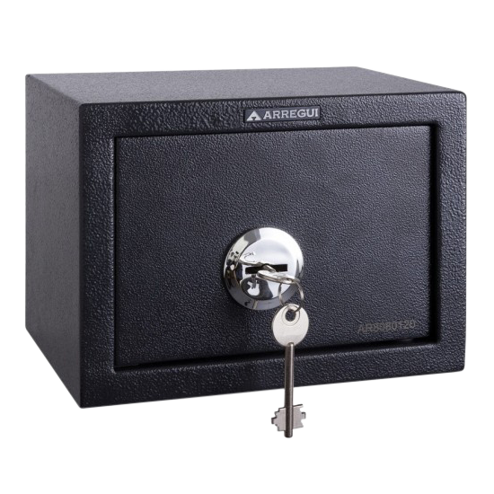 ARREGUI Class Key Locking Desktop Safe