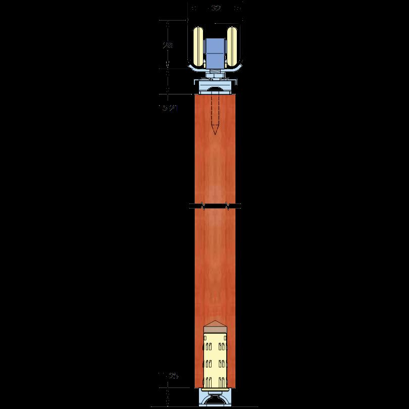 ASEC Sliding Multifold Door Gear