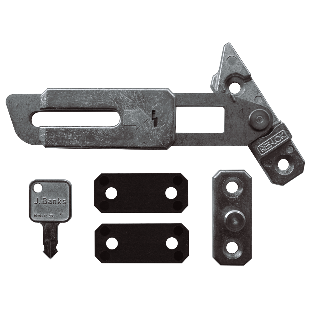 ASEC Concealed Locking Window Restrictor Kit