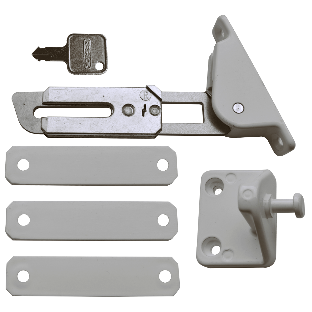 ASEC Face Fix Locking Window Restrictor Kit