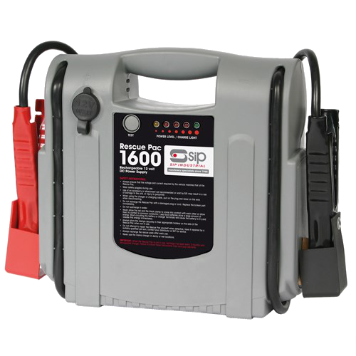 Picture of SIP Rescue Pac 1600 Portable 12V Battery Booster