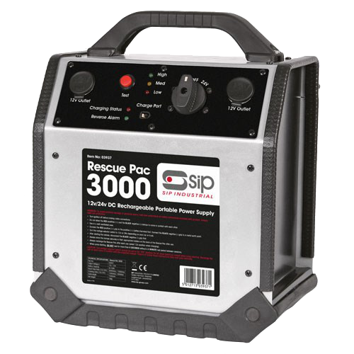 Picture of SIP Rescue Pac 3000 Portable 12V/24V Battery Booster