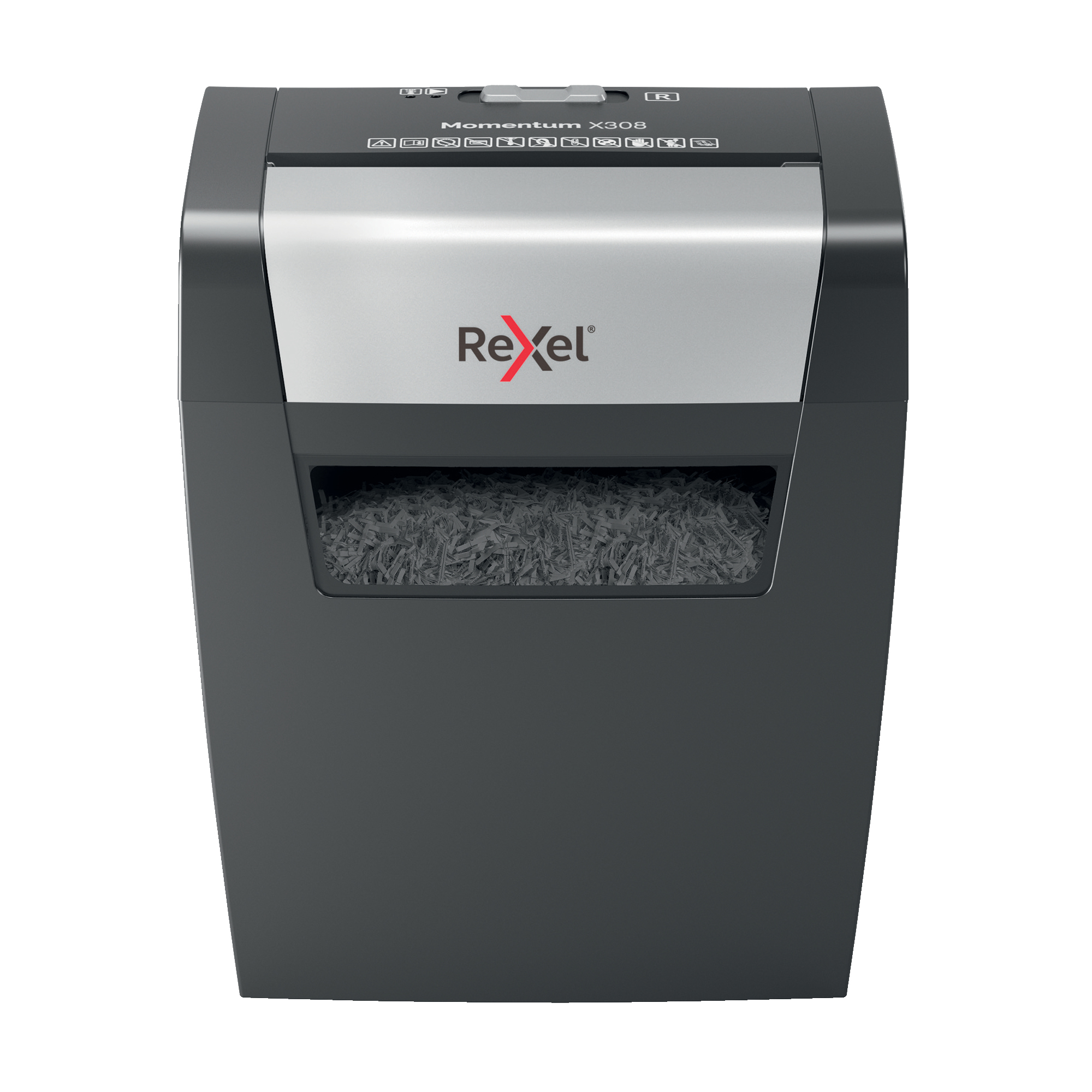 Paper Shredders Rexel Momentum X308 Shredder Cross Cut P-3 Ref 2104570