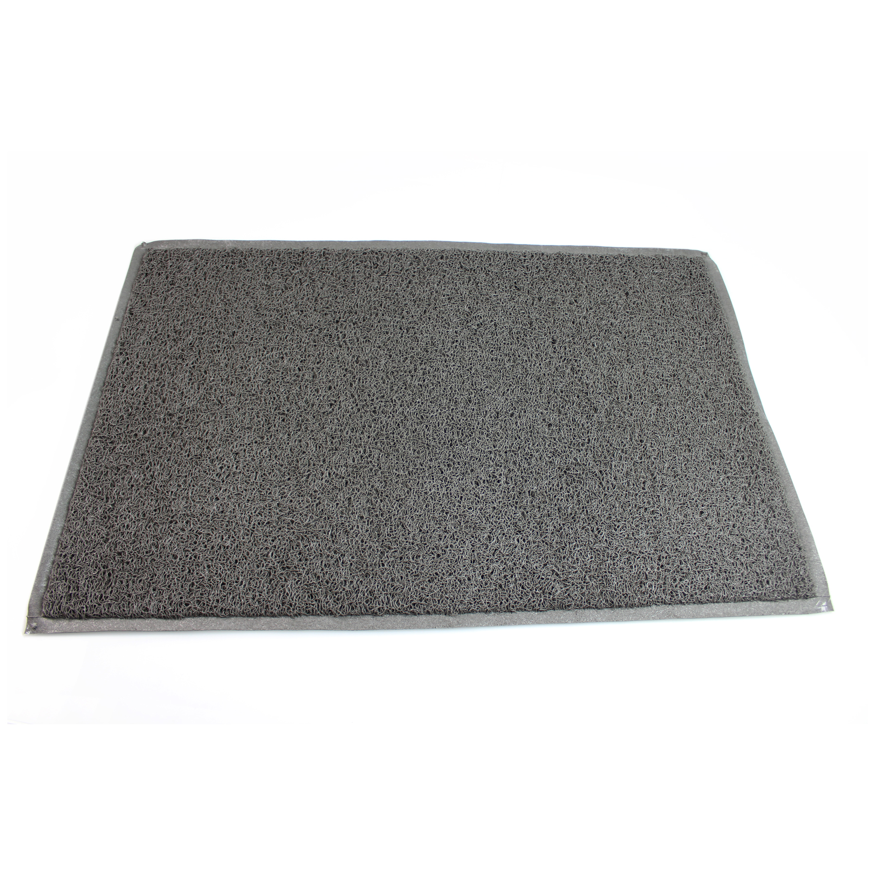 Door mats Doortex Twistermat Outdoor Mat Vinyl Fibre Surface Vinyl Back 600x900mm Storm Grey Ref FC46090TWISG