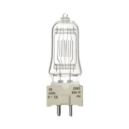 Tungsram 500W Single Ended Halogen GY9.5 Showbiz Bulb 12500lm Dim EEC-C Ref88464 Up to 10 Day Leadtime