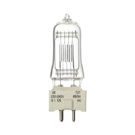 Tungsram 650W T27 Single Ended Halogen Bulb Dim GY9.5 14500lm 230V EEC-C Ref88469 Up to 10 Day Leadtime