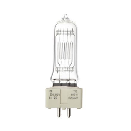 Tungsram 650W T12 Single Ended Halogen Bulb GX9.5 13500lm Dim EEC-D 240V Ref88431 Up to 10 Day Leadtime