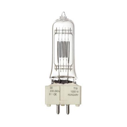 Tungsram 1000W T19 Single Ended Halogen Bulb GX9.5 21000lm Dim EEC-D 240V Ref88457 *Upto 10 Day Leadtime*