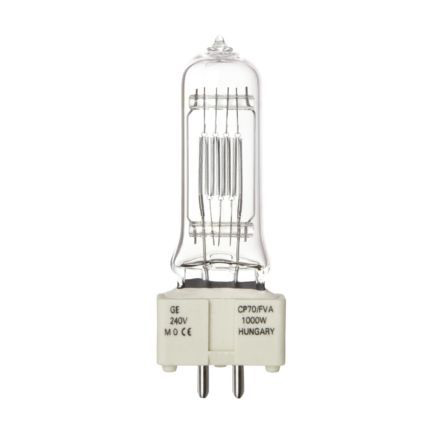 GE 1000W Single Ended Halogen GX9.5 Showbiz Lamp 25000lm Dimmable EEC-C Ref88471 Up to 10 Day Leadtime