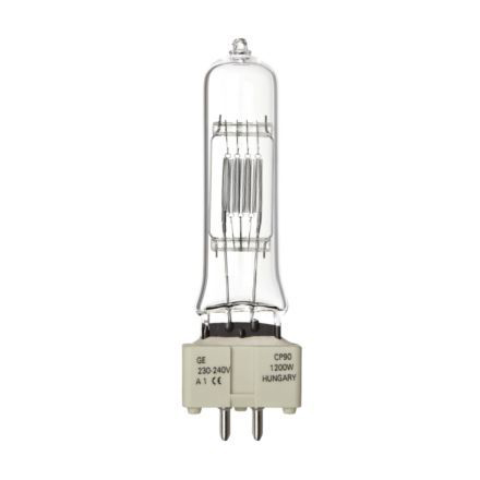 Tungsram 1200W Single Ended Halogen GX9.5 Showbiz Lamp 33000lm Dim EEC-C Ref88453 Up to 10 Day Leadtime