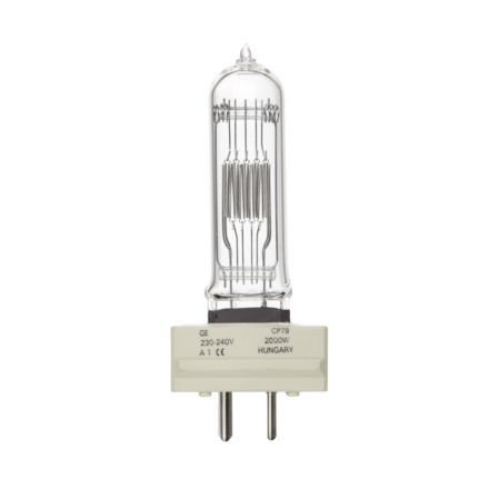 Tungsram 2000W Single Ended Halogen GY16 Showbiz Lamp 54000lm EEC-C Ref88503 Up to 10 Day Leadtime