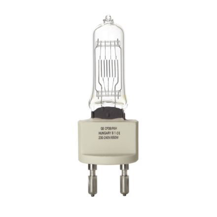GE 650W Single Ended Halogen G22 Showbiz Lamp Dimmable 16900lm EEC-C 240V Ref88531 Up to 10Day Leadtime