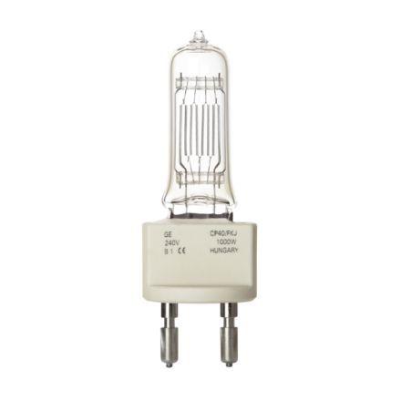 GE 1000W Single Ended Halogen G22 Showbiz Lamp Dimmable 26000lm EEC-C 240V Ref88538 Upto 10Day Leadtime