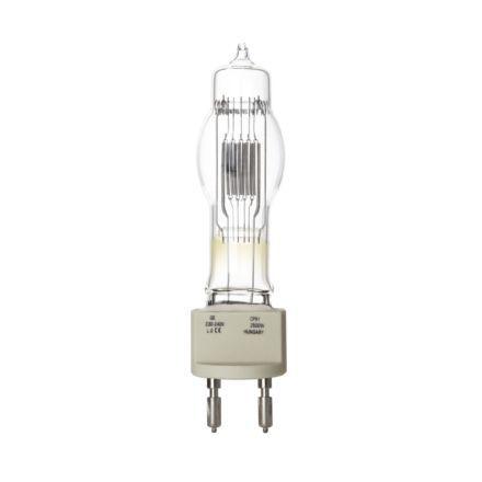 GE 2500W Single Ended Halogen G22 Showbiz Lamp Dimmable 67500lm EEC-C 240V Ref88505 Upto 10Day Leadtime