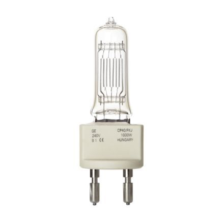 GE 2000W Single Ended Halogen G38 Showbiz Bulb Dimm 54000lm EEC-C Ref88488 Up to 10 Day Leadtime