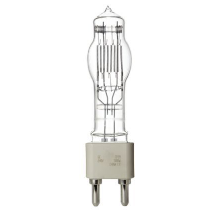 GE 5000W Single Ended Halogen G38 Showbiz Bulb Dimmable 135000lm EEC-C Ref88875 Up to 10 Day Leadtime