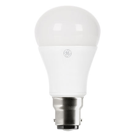 GE 7W B22 GLS LED Bulb Dimmable 470lm EEC-Aplus 230V ExtWrmWhite Ref93010268*Up to 10 Day Leadtime*
