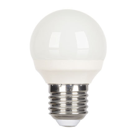 Tungsram 4.5W E27 Spherical LED Bulb Dim 270lm EEC-A+ 230V ExtWrmWhite Ref18606 Up to 10 Day Leadtime