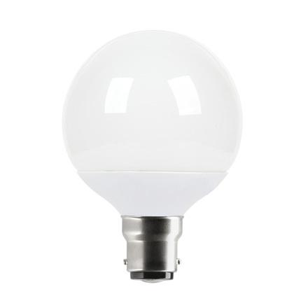 Tungsram 4.5W B22 Energy Smrt Globe LED Bulb Dim 270lm EEC-A 230V ExtWrmWhite Ref18663*Upto10DayLeadtime*