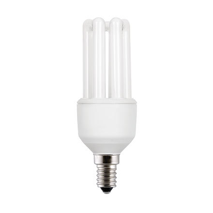 GE 11W T3 Hex E14 Compact Floures Tube ExtWrmWhite 590lm Ref71296 A Rating *Up to 10 Day Leadtime*