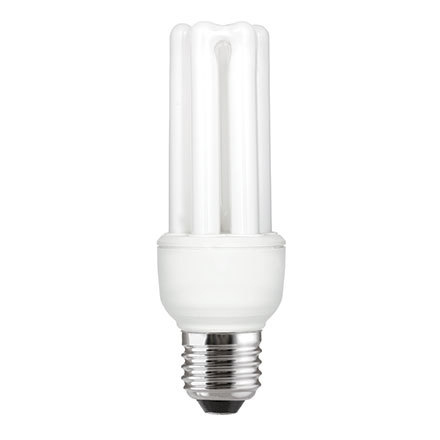 GE 15W T3 Hex E27 Compact Floures Tube 810lm EEC-A Daylight Ref 72376 Up to 10 Day Leadtime