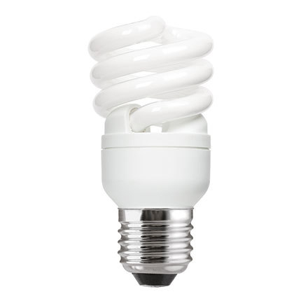 Tungsram 12W T2 Heliax E27 Fluo Bulb Screw Fit 715lm EEC-A ExtWrmWht Ref85640 *Up to 10 Day Leadtime*