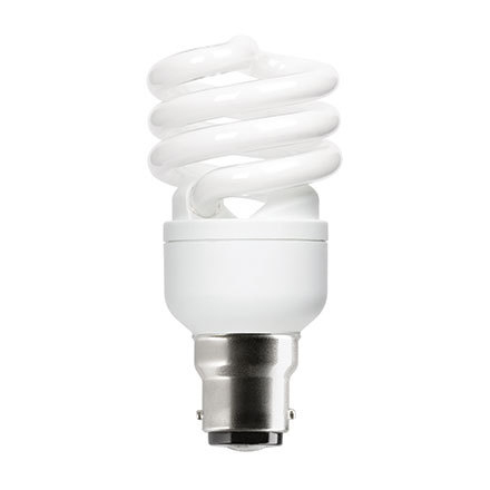 GE 15W T2 Heliax B22d Compact Fluores Bulb ExtWrmWhite 950lm Ref85643 A Rating *Up to 10Day Leadtime*