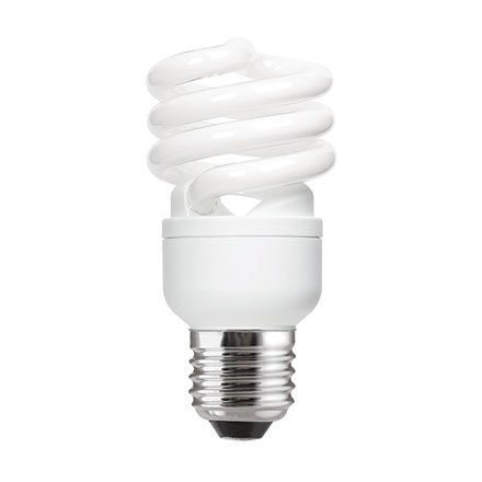 Tungsram 15W T2 Heliax E27 Spiral Fluo Bulb Screw Fit 900lm EEC-A Daylight Ref85636*Upto 10 Day Leadtime*