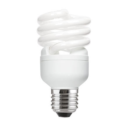 GE 20W T2 Heliax E27 Spiral Cpt Flrs Bulb Screw Fit 1200lm EEC-A CoolWhite Ref85646 Upto 10Day Leadtime