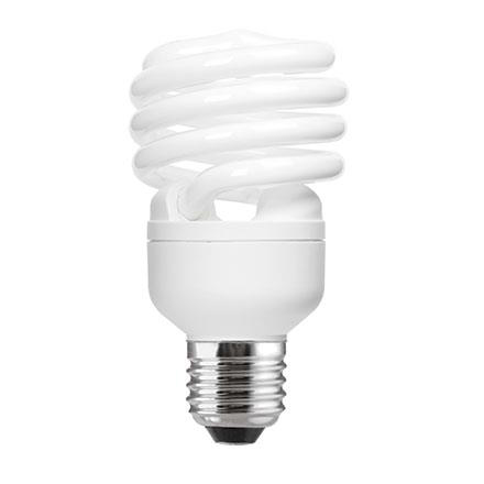 GE 23W T2 Heliax E27 Compact Fluores Bulb ExtWrmWhite 1450lm Ref85648 A Rating *Up to 10Day Leadtime*