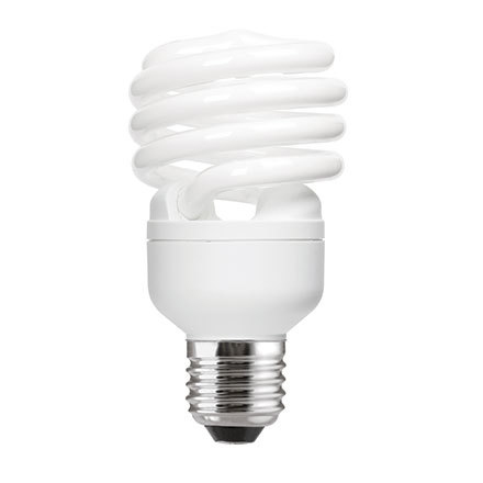 GE 23W T2 Heliax E27 Compact Fluores Bulb CoolWhite 1380lm Ref85650 A Rating *Up to 10 Day Leadtime*
