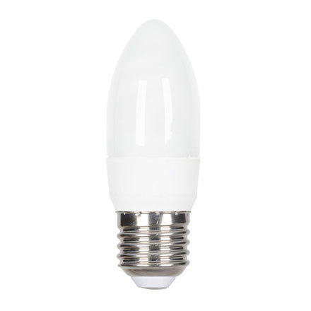GE 7W T2 Heliax E27 Candle Screw Fit Cpt Fluores 320lm EEC-A ExtWrmWhite Ref33919 Up to 10 Day Leadtime