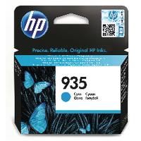Hewlett Packard [HP] No.935 Inkjet Cartridge Page Life 400pp 4.5ml Cyan Ref C2P20AE