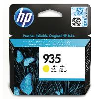 Hewlett Packard [HP] No.935 Inkjet Cartridge Page Life 400pp 4.5ml Yellow Ref C2P22AE