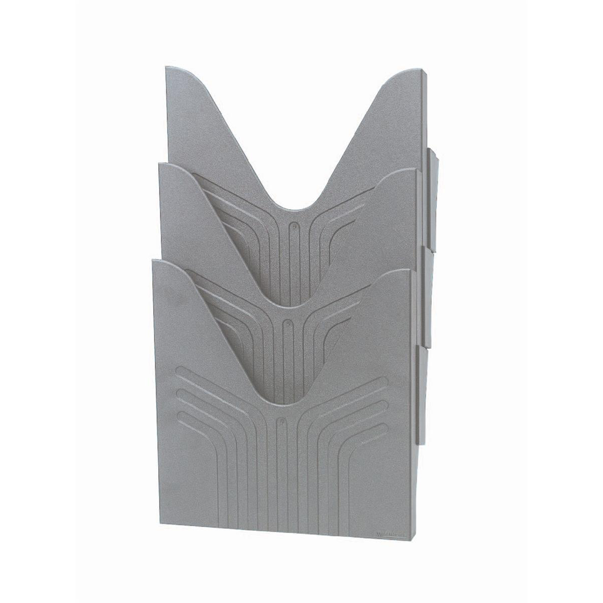 Avery Mainline Display File A4 Grey Ref 144-3GRY [Pack 3]