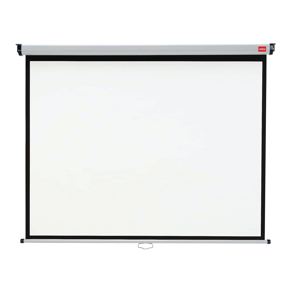 Nobo Wall Screen Wide Angle 2000x1350mm Ref 1902393W-