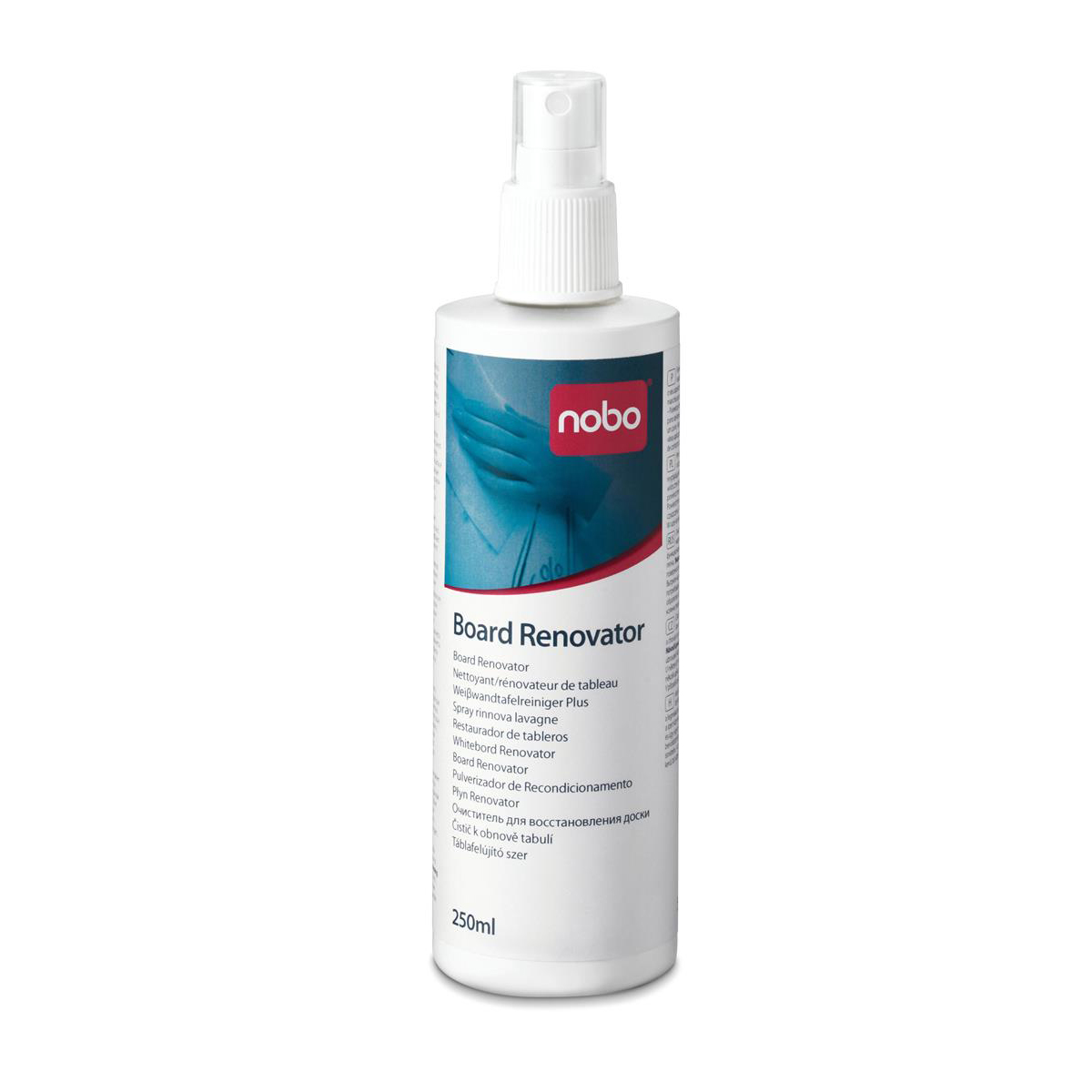 Nobo Whiteboard Renovator Pump Spray 250ml Ref 1901436