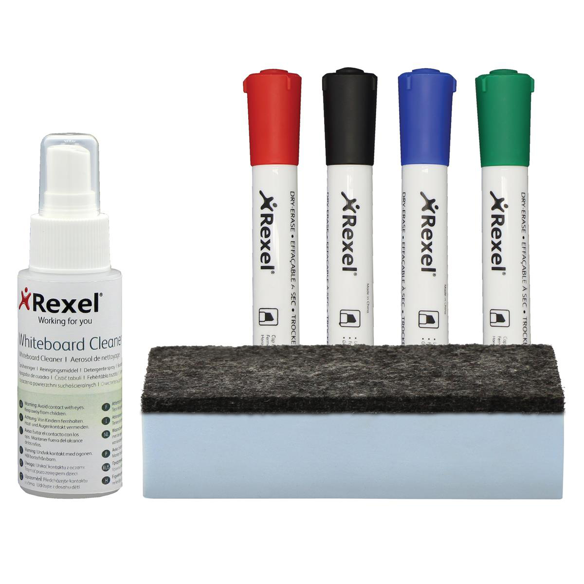 Rexel Whiteboard Cleaning Kit Ref 1903798