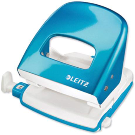 Hole Punches Leitz NeXXt WOW Hole Punch 3mm 30 Sheet Blue Ref 50081036L [REDEMPTION] Apr-Jun20