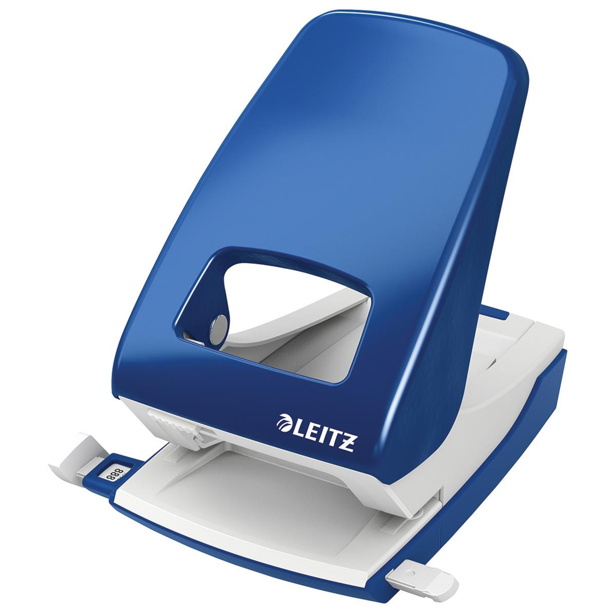 Leitz NeXXt Hole Punch 4mm 40 Sheet Blue Ref 51380035