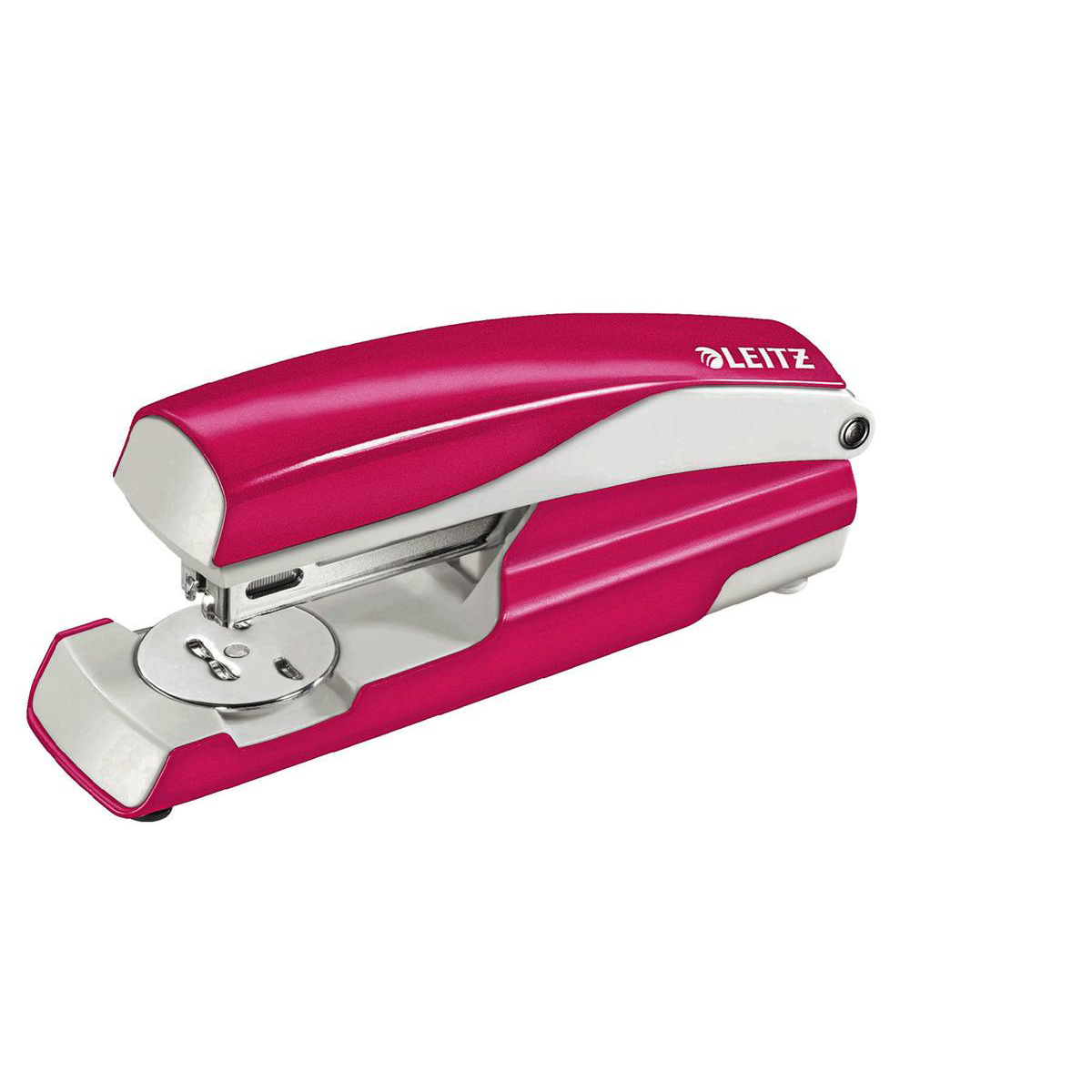 Leitz NeXXt WOW Stapler 3mm 30 Sheet Pink Ref 55021023L [REDEMPTION]