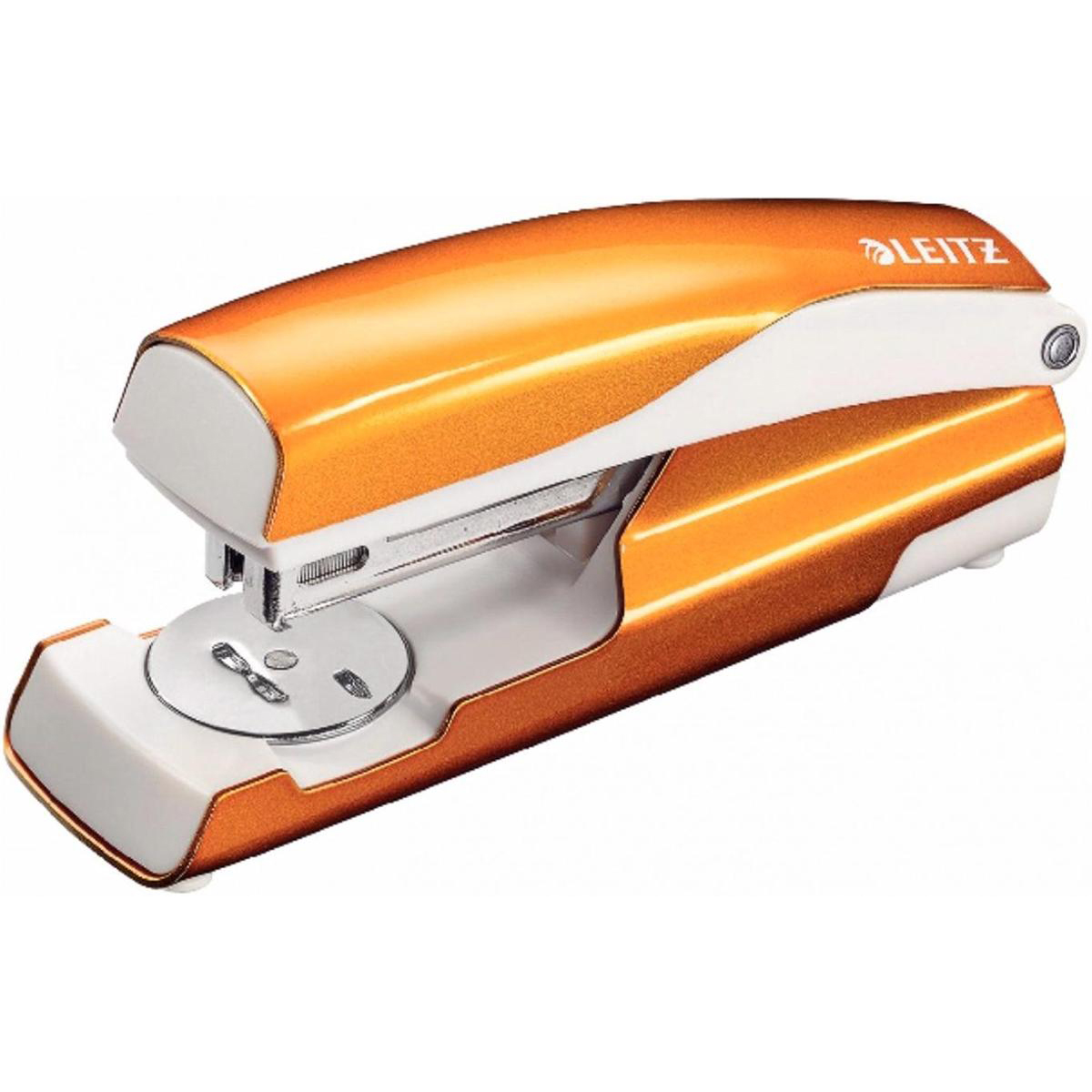 Leitz NeXXt WOW Stapler 3mm 30 Sheet Orange Ref 55021044L [REDEMPTION]